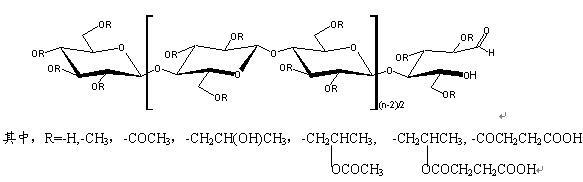 甲基纤维素,羟丙基甲基纤维素,羟乙基纤维素和羧甲基纤维素等常规产品